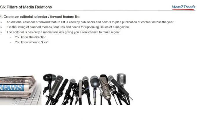 Six fundamentals of media relations and public relations