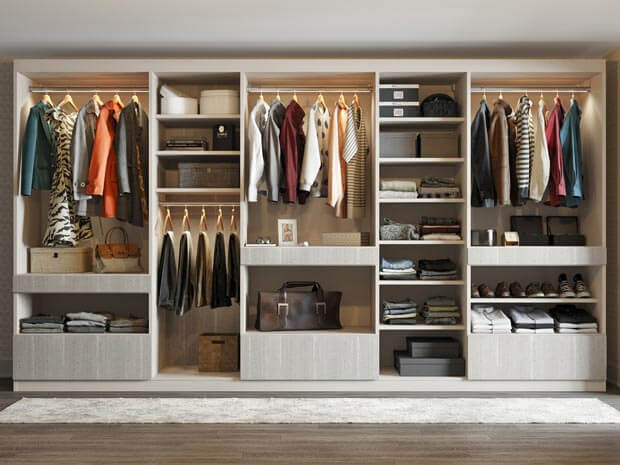 Save Your Space with Built-In Wardrobe